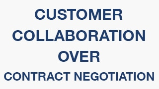 agile customer collaboration