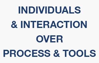 agile individuals & interaction
