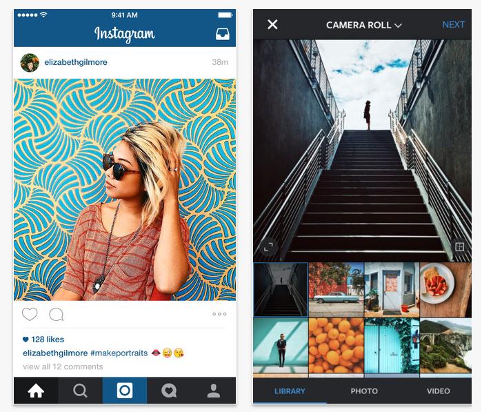 instagram hybrid app