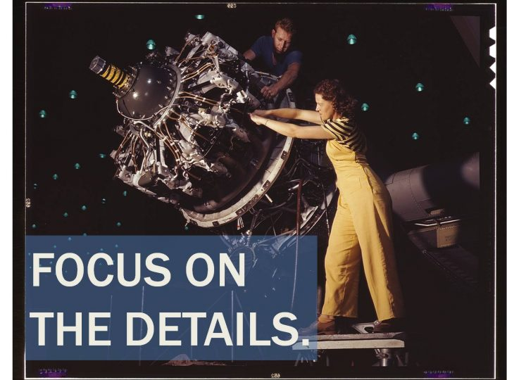 The Role of Details in Software Product Development