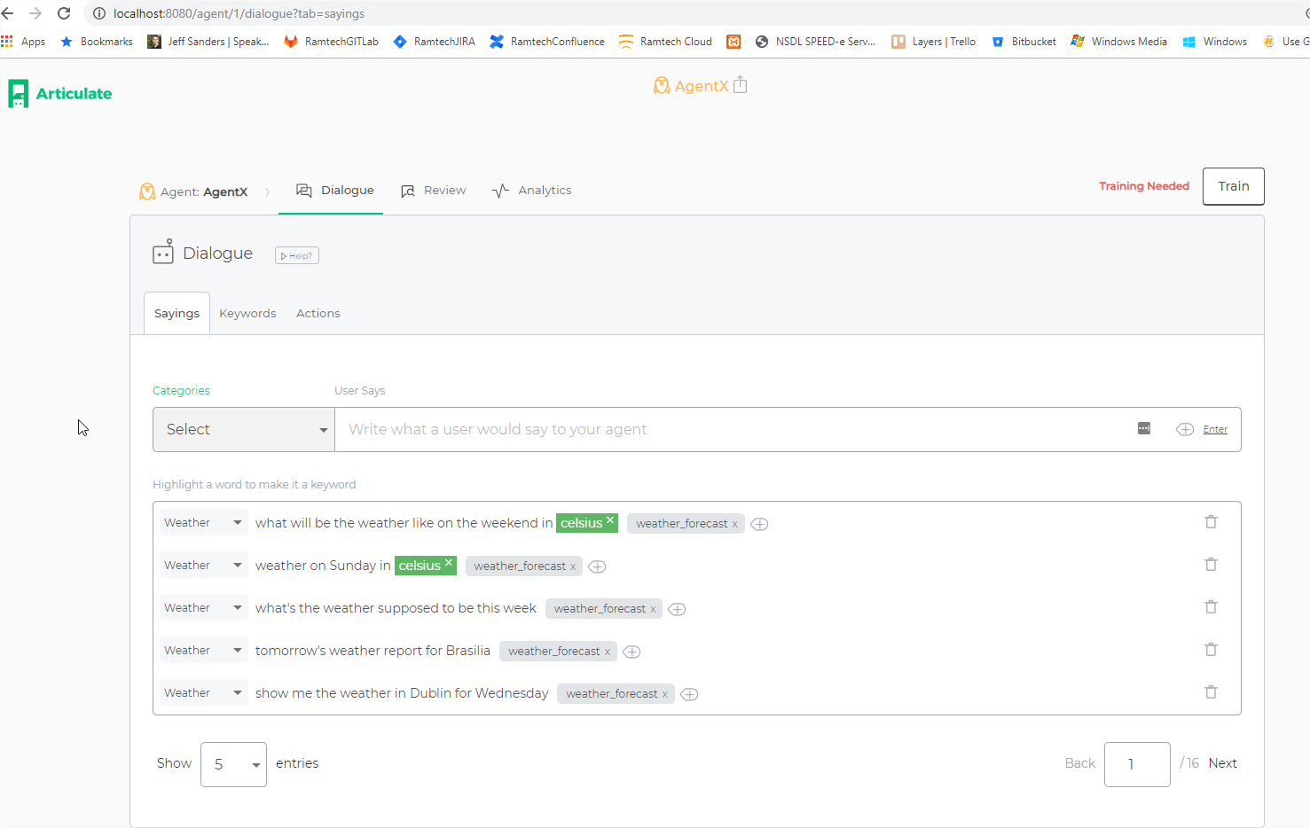 How to Build and deploy a conversational Chatbot in minutes