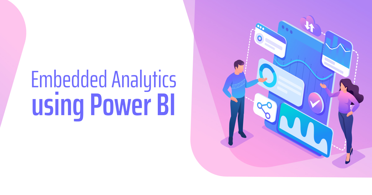 Embedded analytics using Microsoft Power BI