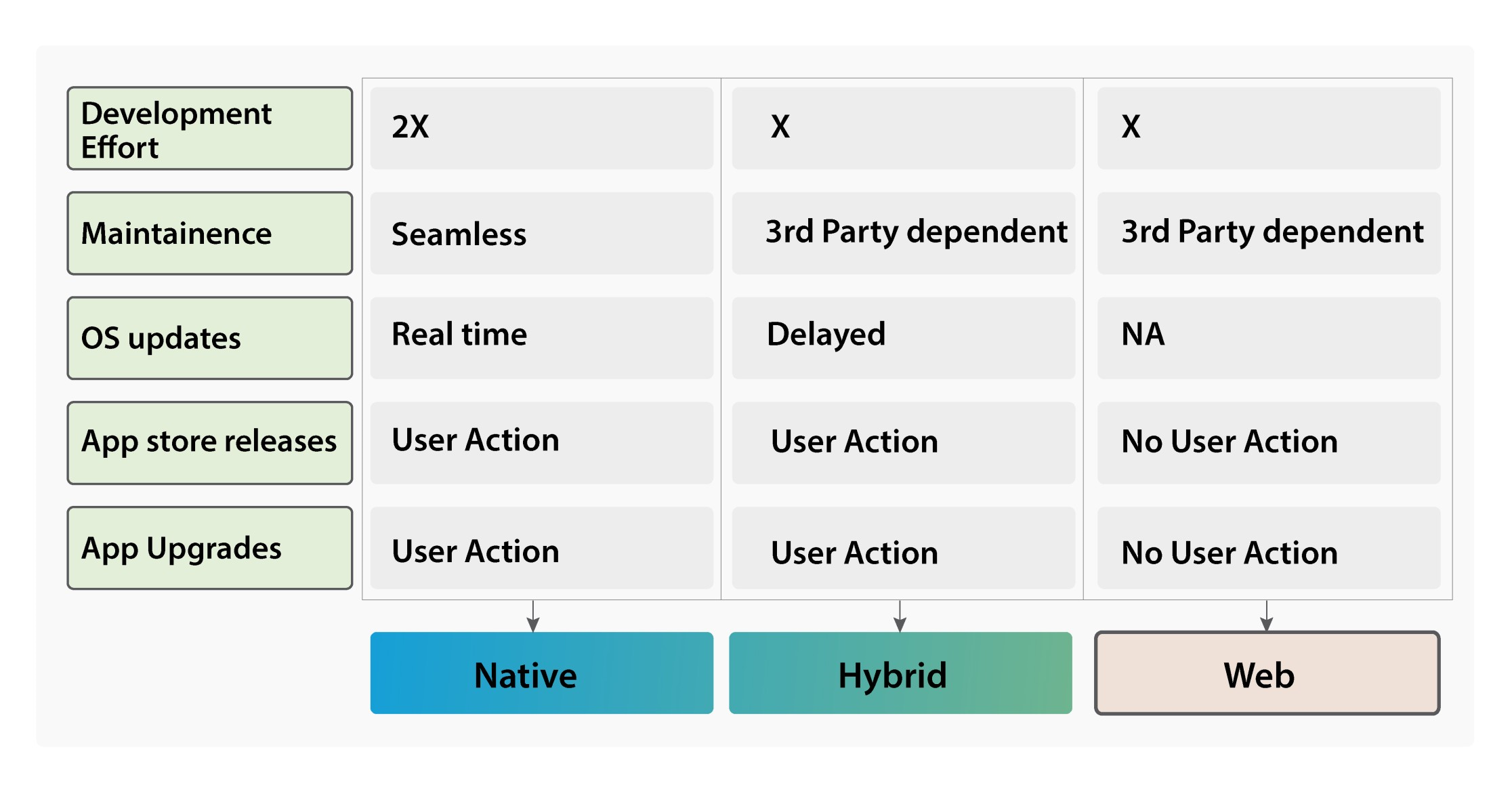 Mobile App Development Choices