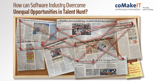 How Can The Software Industry Overcome Unequal Opportunities in Talent Hunt?