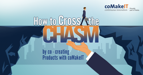 How to Cross the chasm by co-creating the products with coMakeIT