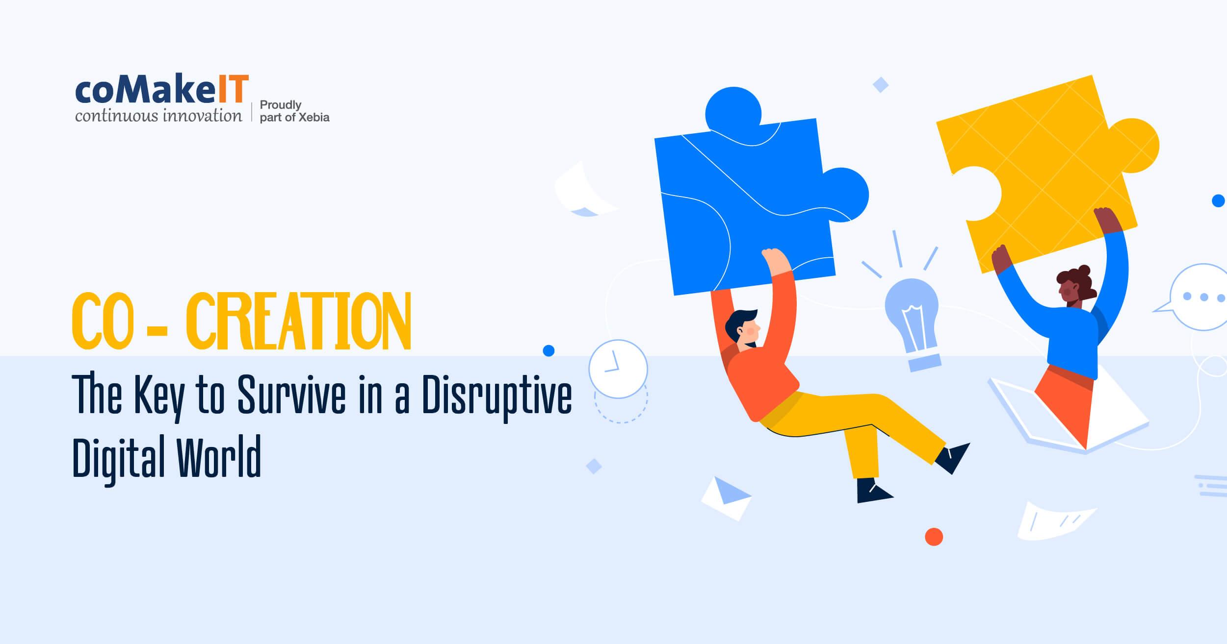 co creation Digital Transformation
