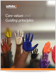 coMakeIT | Core values and Guiding Principles