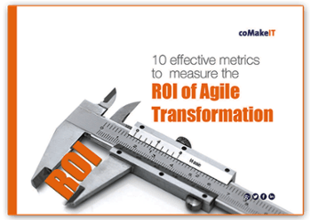 coMakeIT | 10 effective metrics to measure the ROI of Agile transformation