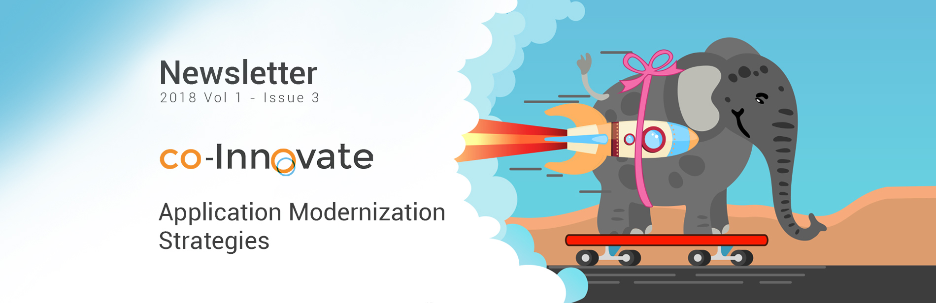 coMakeIT | co-Innovate Newsletter 2018 Vol 1 – Issue 3