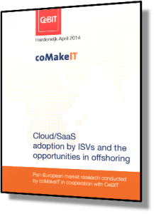 coMakeIT | Cloud/SaaS Adoptiong By ISV's and The Opportunities In Offshoring