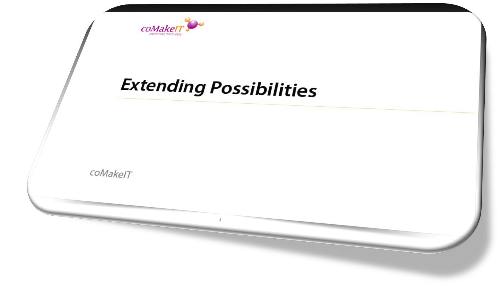 Presentation Extending Possibilities 1